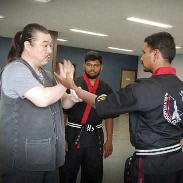 Hapkimooyeh seminar for Indian Taekwondo instructors in Korea (인도 태권도 지도자 합기무예 세미나)