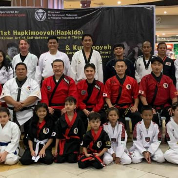 2019 1st Hapkimooyeh seminar in the Philippines(2019년 1차 필리핀 합기무예 세미나)